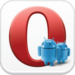 Opera—браузер для андроид.